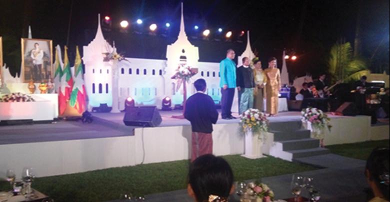 タイの「ナショナルディ」の祝賀式典が大使公邸で盛大に開催
