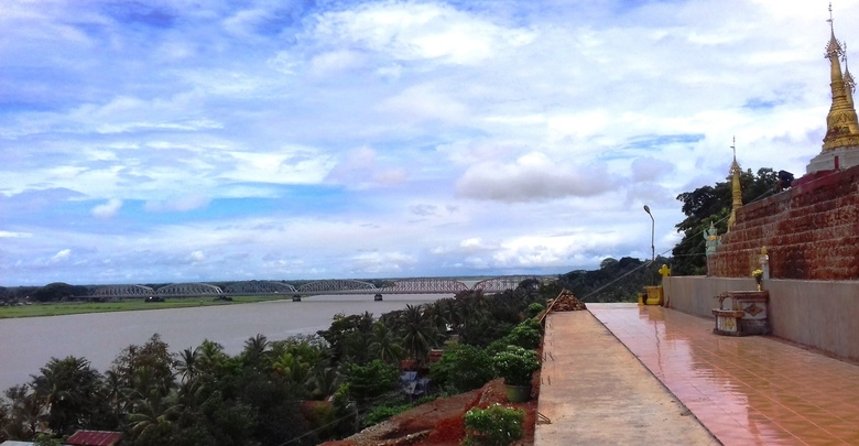 ◎発見│ミャンマーの観光スポット  KyaikHto チャイトーとシッタン川周辺