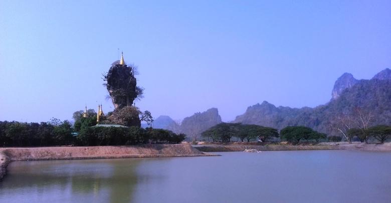 ◎発見|ミャンマーの観光スポット Kyauk Ka Lat パゴダへも足を運ぶ