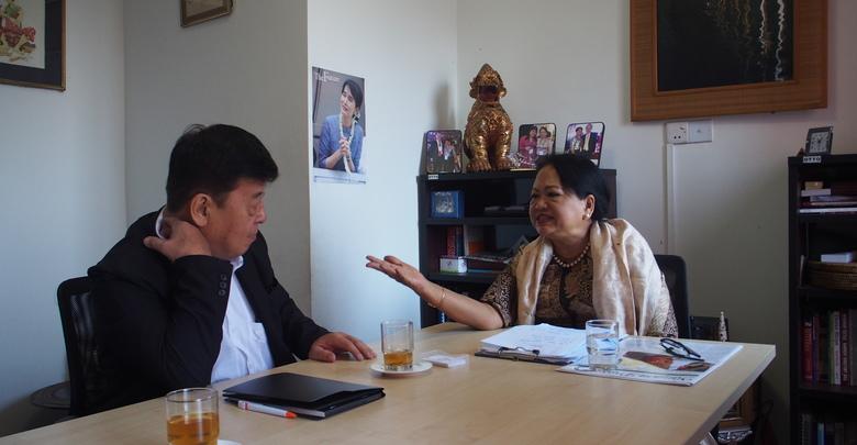 ◎顔|Face シニア法務コンサルタント/弁護士 Daw Tin Ohnmar Tun ティン・オンマー・トンさん