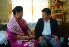 ◎顔・人│VIP インタビュー ミャンマー最大の女性支援団体会長の果てしなき夢 ノウハウ、資金提供で農村女性に経済的自立の道を Daw Hla Waddy ラ・ワディさん
