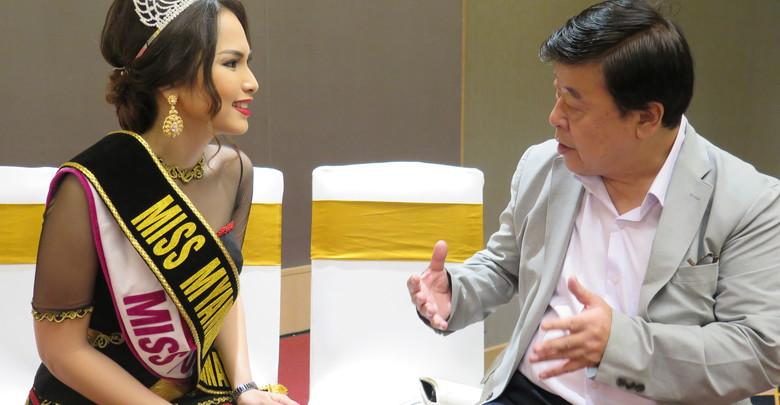 ◎顔|Face Miss  Emerald  Nyein エメラルド・二ェインさん 2015年ミス・ミャンマー ミス・インターナショナル2015 ミャンマー代表