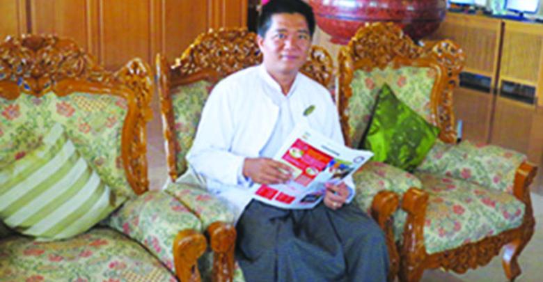 ◎ホテルのトップにモンユアの魅力をお聞きした U Kyaw Hein  General Manager ,  Win Unity Resort Hotel, Monywa Nyaung u 出身, ビルマ族