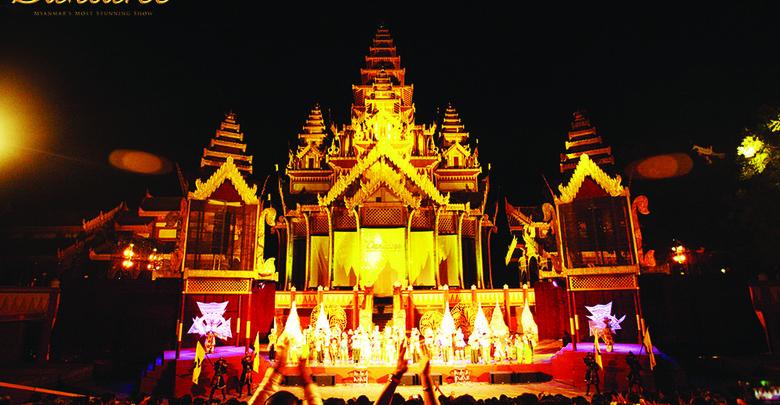 ◎Dandaree Show In Bagan
