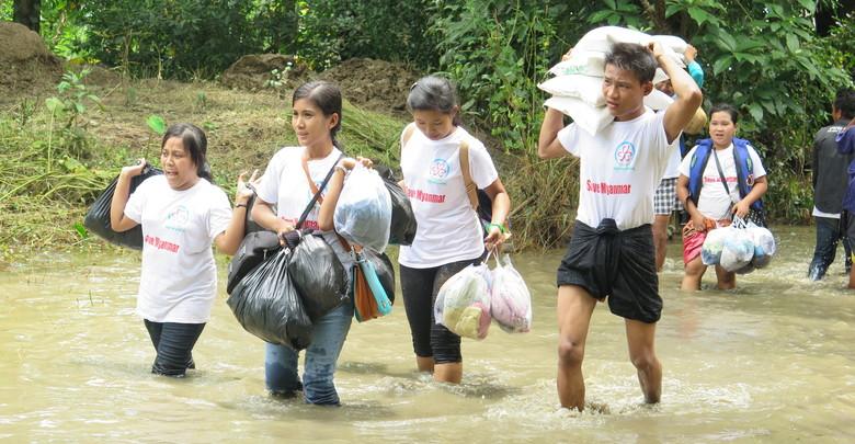 ◎発見|Discovery Bago管区 トンセー地区への支援活動 「被災地へ支援物資を届けて感じたこと」