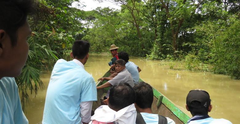◎発見|Discovery 熱帯モンスーン「Komen」被災地への支援活動