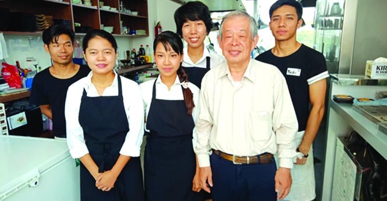 大館    堯  Takashi  Odate  日本食レストラン「Horn」オーナー 和食、和牛専門店「Yoshi」オーナーシェフ