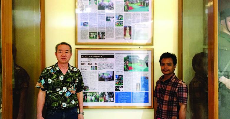 導│ミャンマーに貢献する 第1回 置田和永  Kazunaga Okita「東南アジアに世界平和の塔『自他平等碑』を 建てる会」代表 元ヤンゴン日本人学校校長