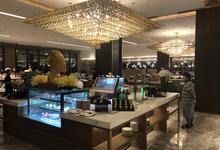 ヤンゴン5つ星のウィンダムグランドホテルのビュッフェをピックアップ