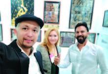 第1回 ミャンマー人の肖像 PART-2 ミャンマーの著名なティシュペーパー画家  ドバイの世界的な芸術展に出展して評判を呼ぶ Nataasha Thwin ナターシャ・ッィン 画家、ファションデザイナー