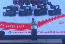 Canonの撮影専用のシネマカメラ、EOS C300Mk2, EOS C200の製品リリース発表がWyndham Grand Hotel開催される。