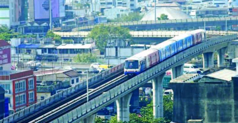 ヤンゴンの高架列車の調査開始